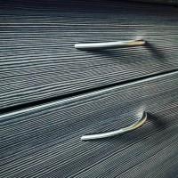 Möbelgriff Segmentbogengriff ø 12mm massiv Edelstahl matt gebürstet Mod. Tampa