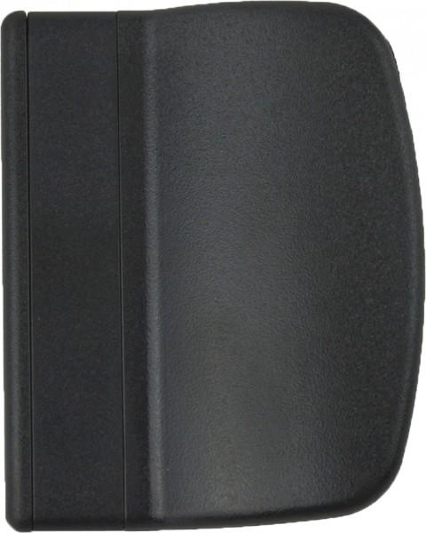Balkontürgriff Terassentürgriff Ziehgriff aus Kunststoff Schwarz RAL9005