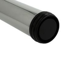 Tischbein abklappbar 870mm Höhe ø 50mm Tischfuss aus Metall höhenverstellbar