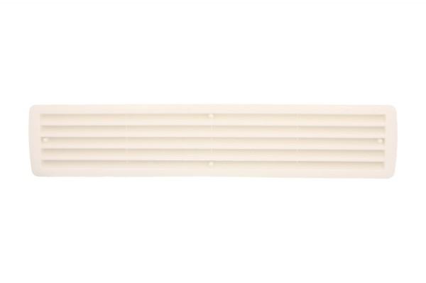 Lüftungsgitter Türlüftung Kunststoff Weiß paarweise 457mm x 92mm