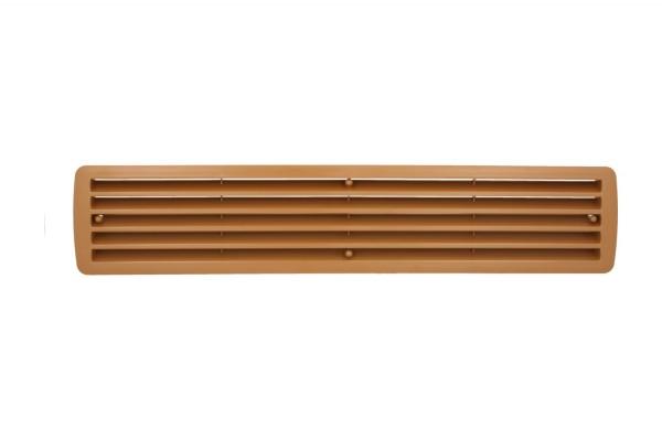 Lüftungsgitter Türlüftung Kunststoff Limba paarweise 457mm x 92mm