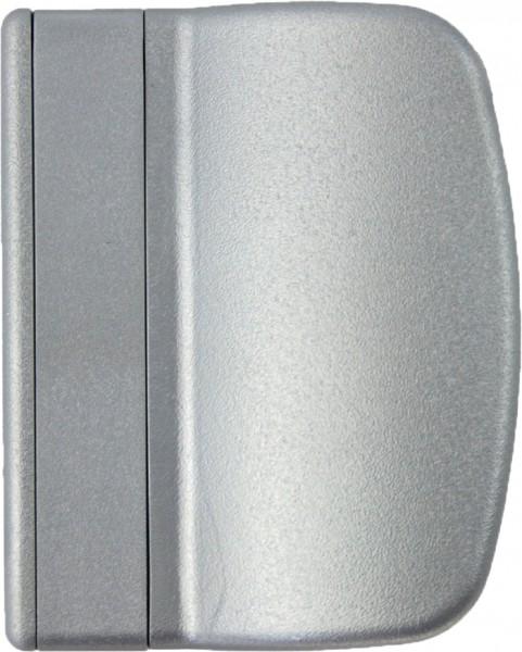 Balkontürgriff Ziehgriff Terassentürgriff aus Kunststoff Silber