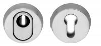 Schutzrosette Kernziehschutz Rosette Profilzylinder echt Edelstahl 14,5mm