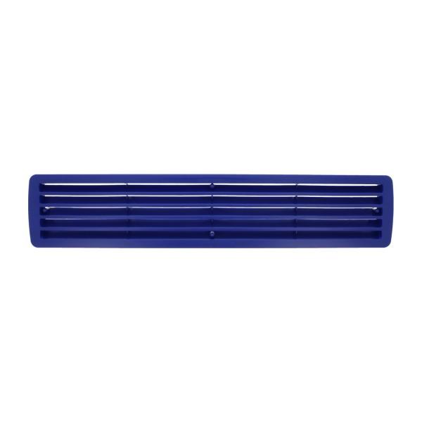 Lüftungsgitter Türlüftung Kunststoff Blau paarweise 457mm x 92mm