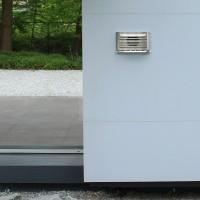 Premium Abluftgitter Küchenabluftgitter isoliert Überdruckgitter Rückstauklappe
