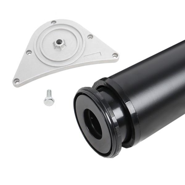 Tischbein 80mm Durchmesser Höhe 870 mm in schwarz Tischfuß Möbelfuss aus Metall