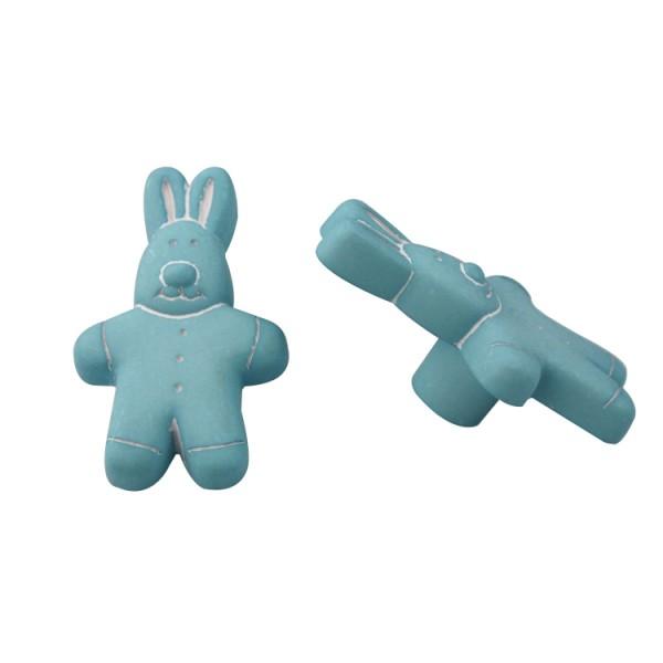Möbelknopf Schrankknopf Schubladenknopf Kinderzimmerknopf Modell Hase